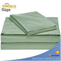 China Supplier Solid Colour Microfiber King Size Hotel Bed Sheet Set,Fitted Sheet