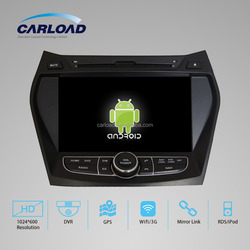 Android 2 din car with dvd gps for touch screen car dvd/2 din car dvd for Hyundai IX45 car