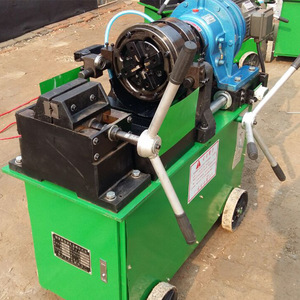 China Factory electric rebar thread rolling machine price