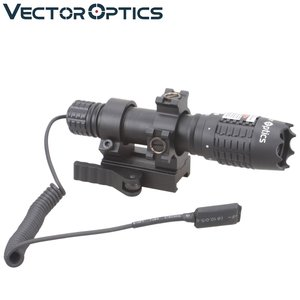 Vector Optics Magnus Tactical Designator Gun Scope Green Laser Flashlight for Outdoor Hunting Lighting