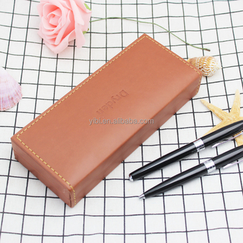 yibi-L22 Luxury leather Gift pen box for pen