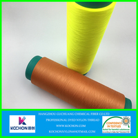 Hygroscopic and sweat polyamide yarn through high twist and dyed for fabric