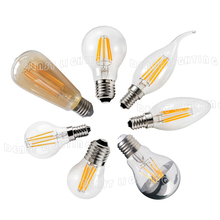 2016 HKTDC HongKong Lighting Fair Display Vintage LED Filament bulbs