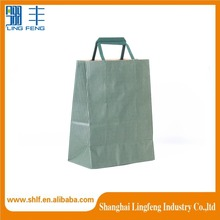 promotion prinitng kraft paper shopping bag with handle