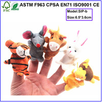 sex toy plush finger puppet toy-finger play toy