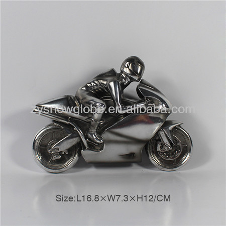 16.8*7.3*12 resin motorcycle model