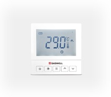Programmable digital room thermostat cooling heating new design