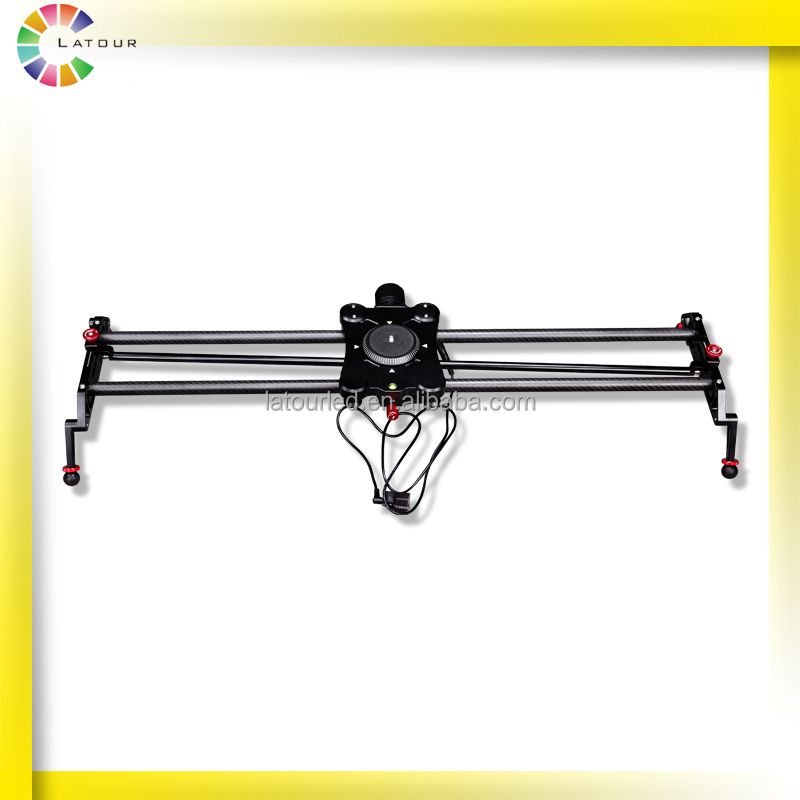 80cm photography carbon fiber motorized slider for video Motorized video slider