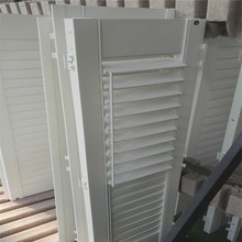 Best price 63.5 mm louvre Z frame center tilt plantation shutter furniture