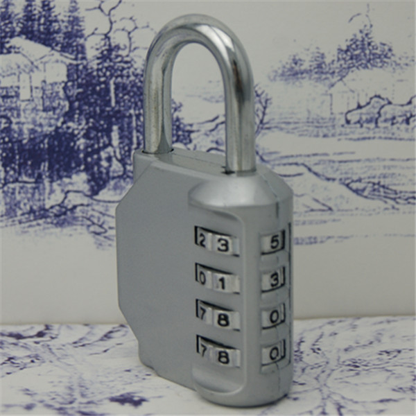 40mm 4 Digit new brass combination padlock,brass lock