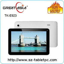 Great Asia 9 inch high quality download music free mp3 tablet pc