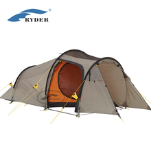 3 Man Factory Sale High Quality Custom Large Family Waterproof Unique Camping Tent for Hiking