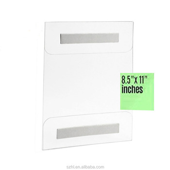 8.5 x 11 wall mount acrylic sign holder,acrylic menu holder