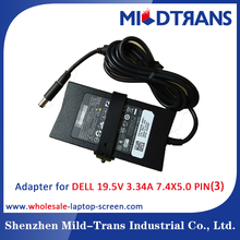 New original slim Notebook Charger 65W 19.5V 3.34A for DELL charger DC connector