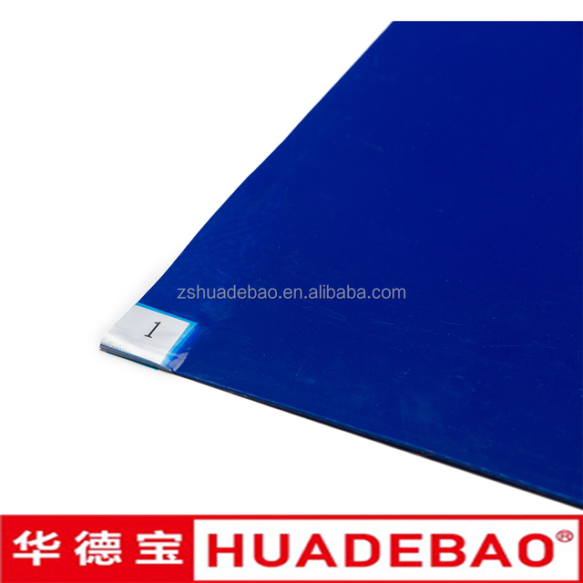 Shoes Floor Sticky Mats for Cleanroom Anti Dust ESD Rubber Mat