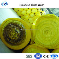 Foil Faced Glass Wool Blanket 12Kg/M3 Aluminium Foil Rolls Insulation