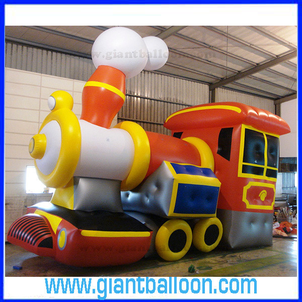 Advertising Inflatable Cartoon Train