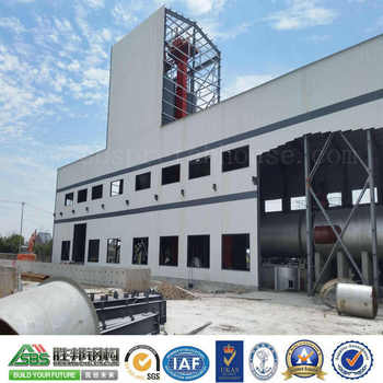 SBS Large Span Light Prefab Steel Structure Warehouse Building