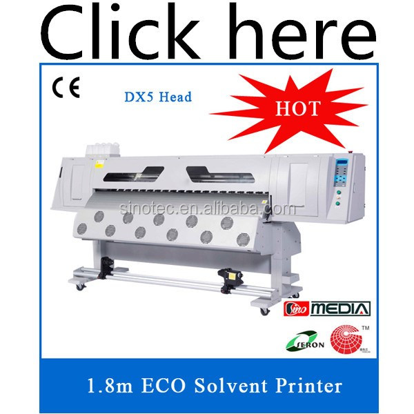 Cheap solvent printer for 512i print head