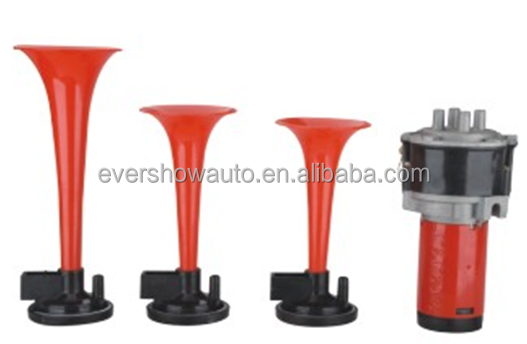 Hot selling electric pump music gas horn auto horn gas air horns
