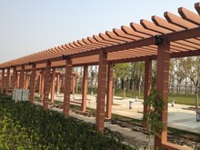 Waterproof Outdoor WPC Pergola