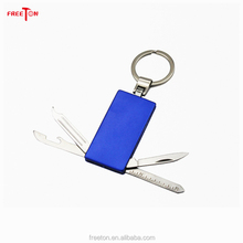 Wholesale Stainless Steel Pocket Gift Knife with Keychain