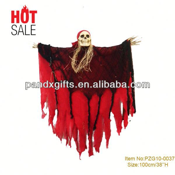over 3 feet Hanging SKELETON HALLOWEEN HOME DECOR SCARY