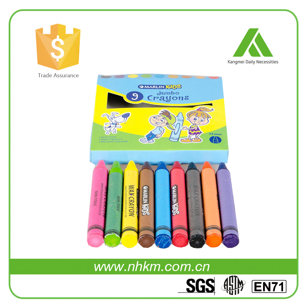 Custom Color Solid Material wax Crayon