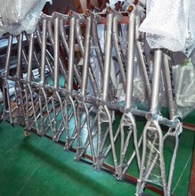 Manufacture Titanium MTB Frame 29er Set mountain bike from factory