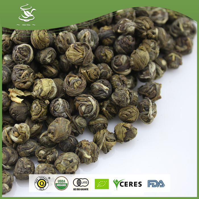 Organic Loose Packed Jasmin Dragon Ball Green Tea