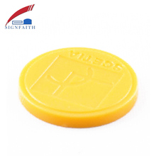 RFID Plastic Token Coin Parking Card Tag 125KHz
