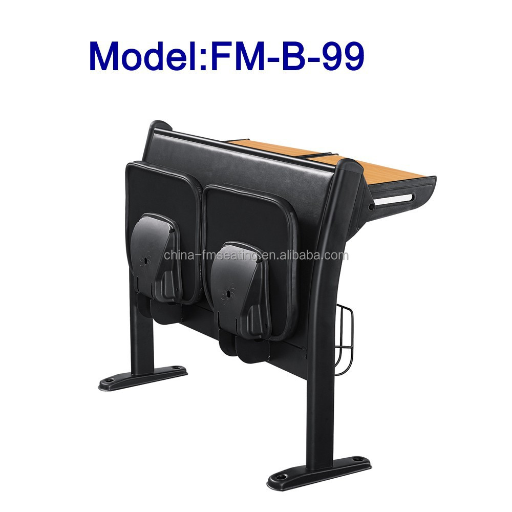 No.FM-B-99 Study table with folding seat for sale