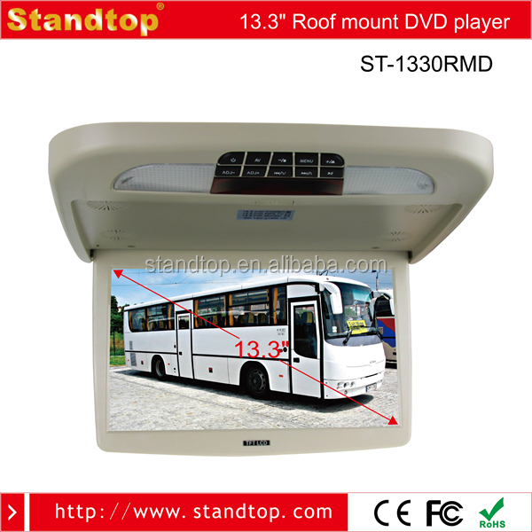 Cheap 13.3 inch Car DVD Player for Bus