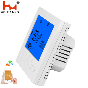 Indoor use smart thermostat for infrared heater in heating season