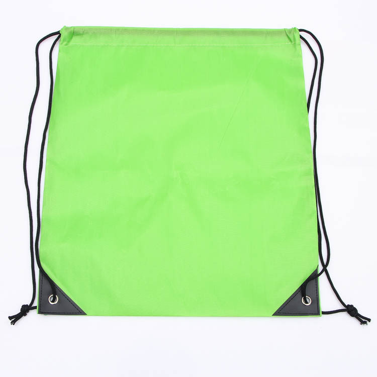 High quality new products arrival fashion polyester sport backpack bag drawstring with printed logo