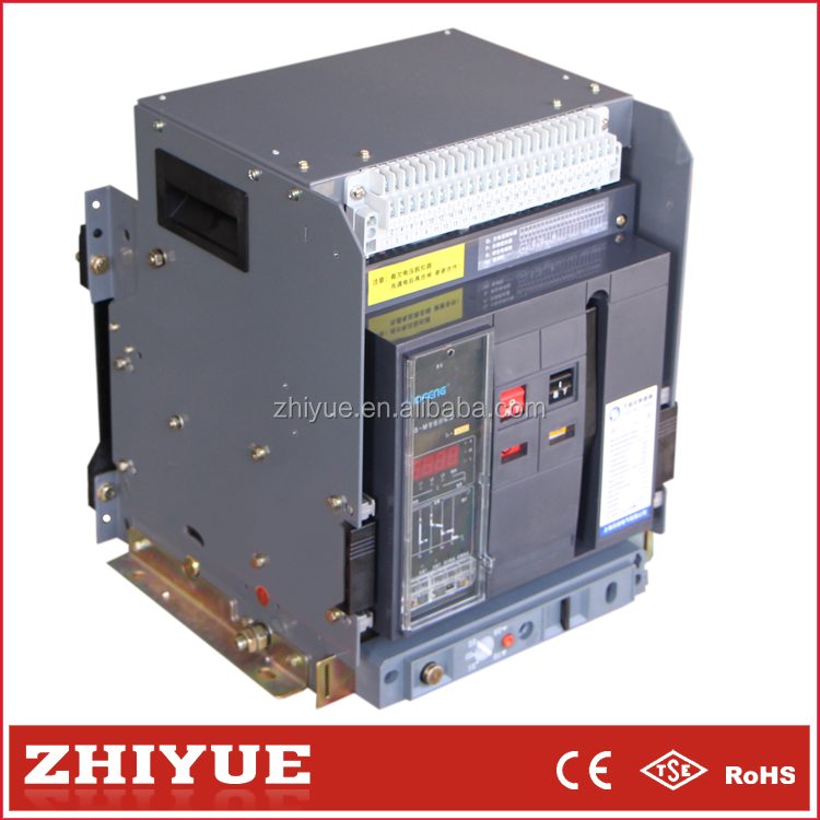 CW1 800a 3p drawable frame intelligent universal acb air circuit breaker