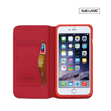 leather mobile case wallet cover for iphone 5 flip case