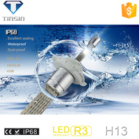 new product 12-24V 40W 4800lm waterproof auto head lights h13/h11 led headlight for toyota land cruiser