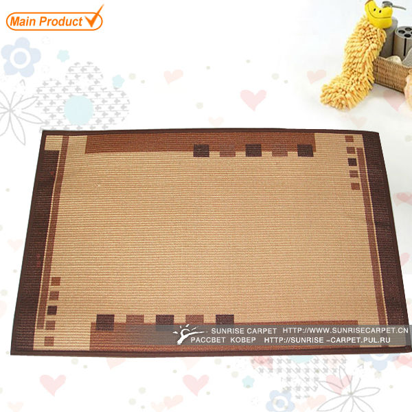 Healthy Home Jute Eco-friendly Latex Back Sisal Carpet
