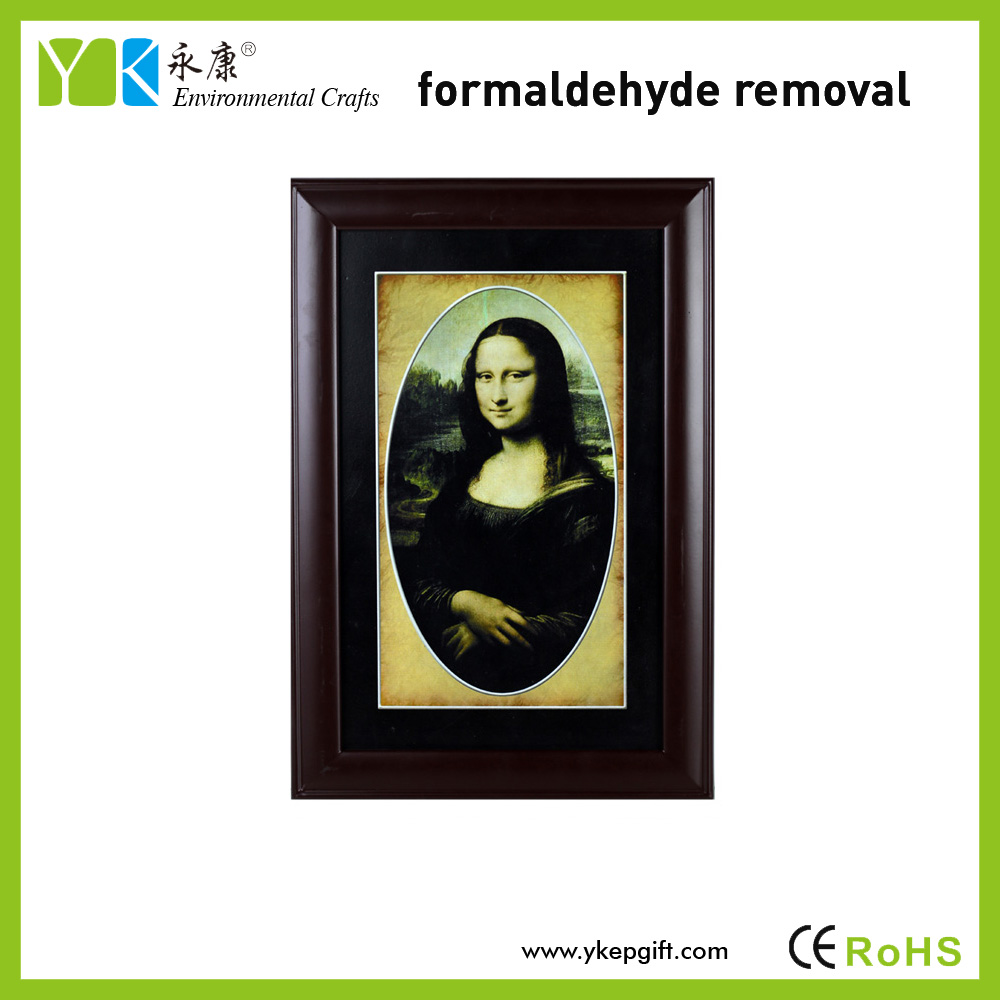 High Quality Eco-friendly Handmade Mona Lisa Activated Carbon Wall ...