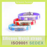 High Quality Silicone Rubber Band Bracelets