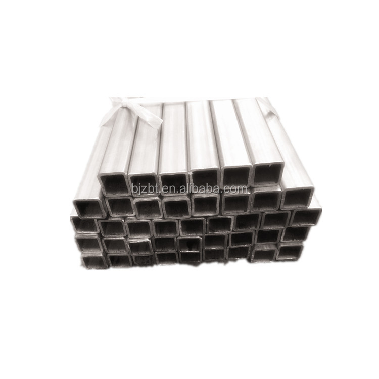 ASTM B338 GR2 TITANIUM SEAMLESS SQUARE TUBE PRICE IN ALL SIZES FOR ELECTROPLATING IN CHINA