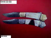Damascus Folding Knife hand made damascus folding knife made in pakistan