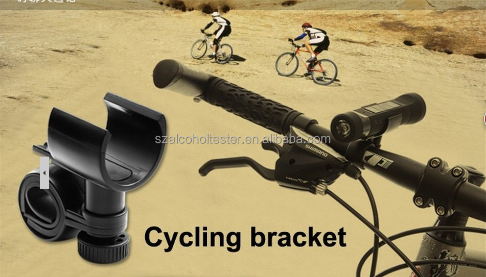 4in1Multi-function Sport Bicycle Bike Mini LED Flashlight Torch FM TF MP3 Music Speaker 8101