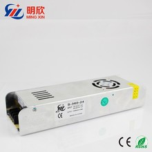 Single output type dc 24v 15a 360w slim case led power supply ,constant current strip led driver