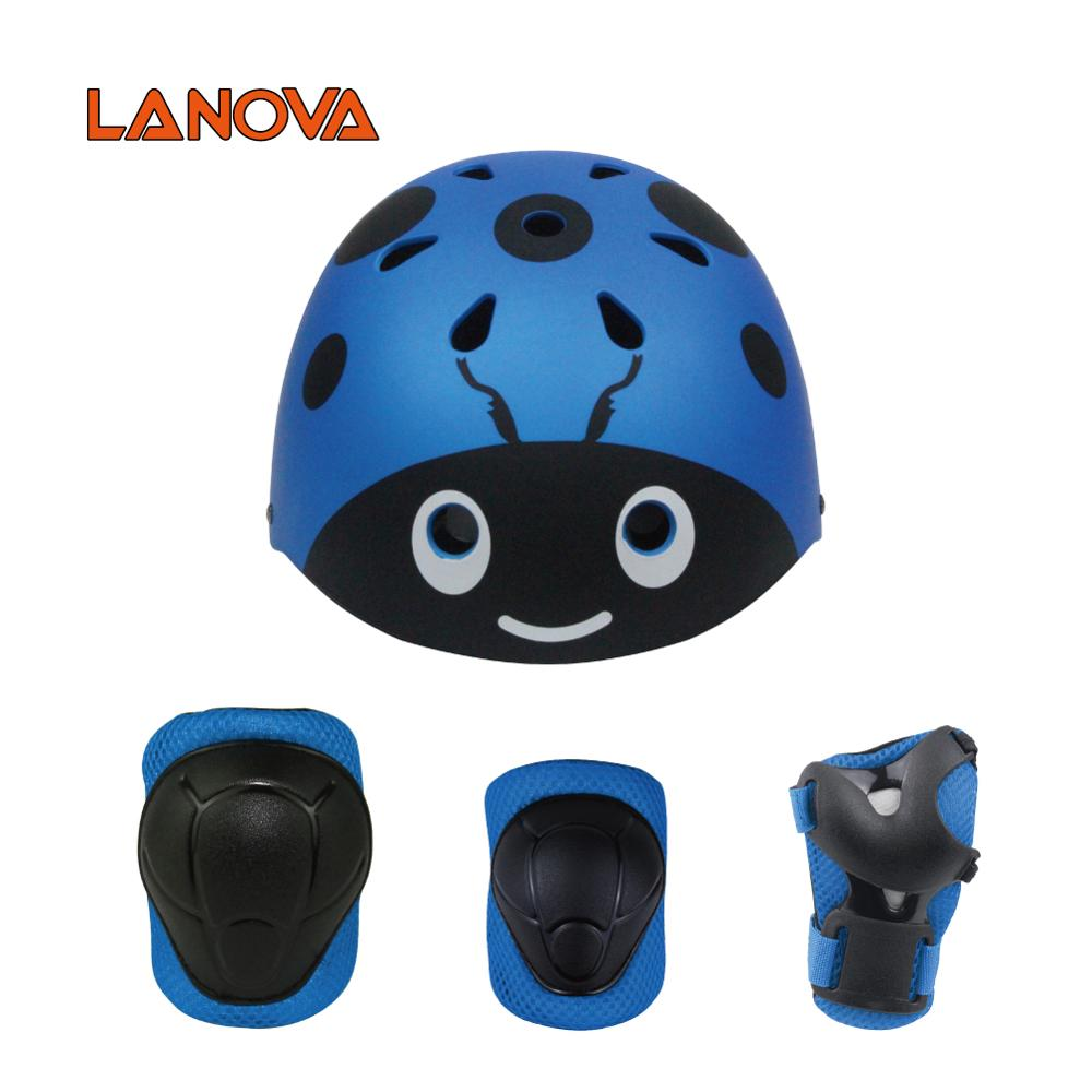 Beatle Skateboart Helmet with Protective gear sets for Kids Outdoor Sports CE/CPSC OEM design