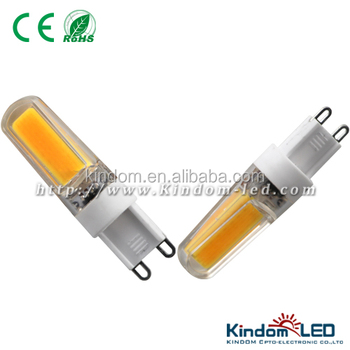 AC110V/230V 3W Dimmable G9 COB Led Lighting Lamp
