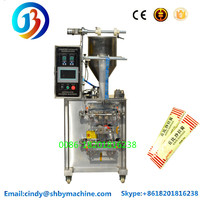 JB-150J automatic sachet salad jam packing machine small bag fruit puree filling and sealing machine