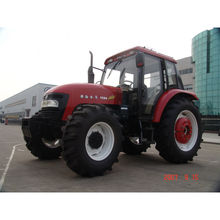 Best 110HP JINMA 1104 farm tractor price with A/C Cabin