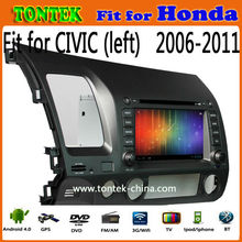 Android 4.1.1 touch screen dvd player car gps for Honda civic 2006 2007 2008 2009 2010 2011